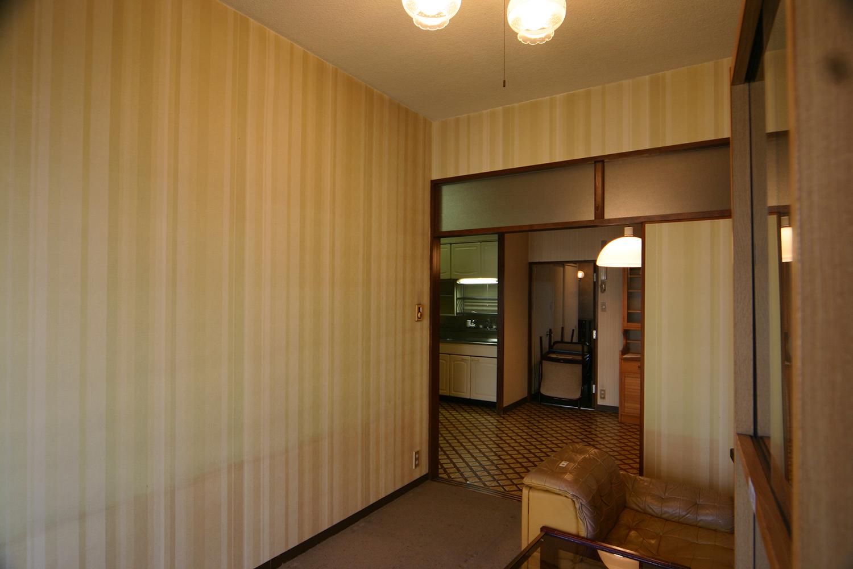 和室にする前の洋室