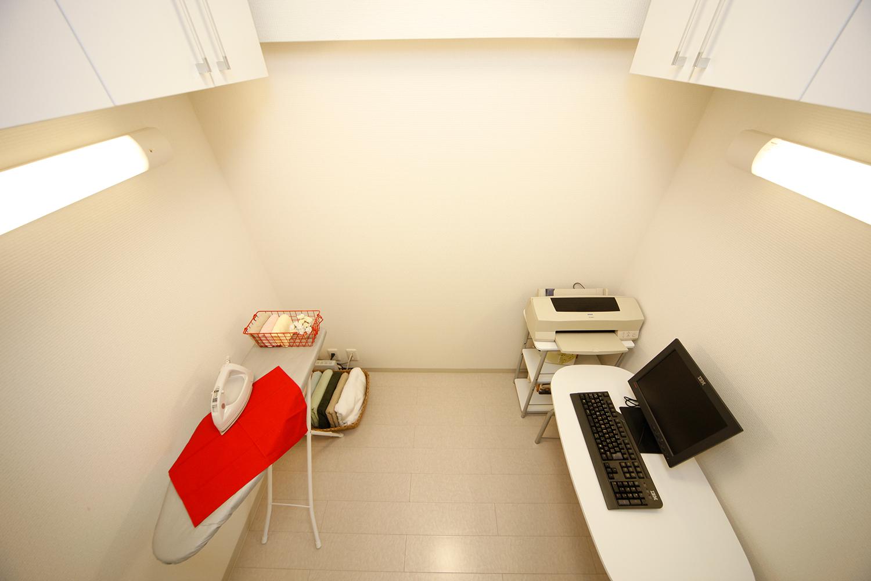 家事室-書斎の俯瞰