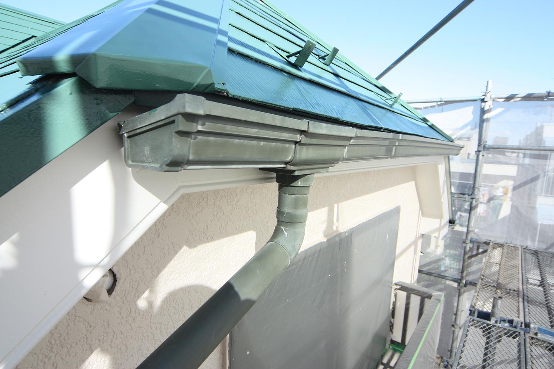 屋根リフォーム中樋