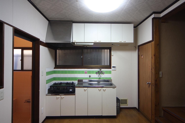 1階キッチン写真