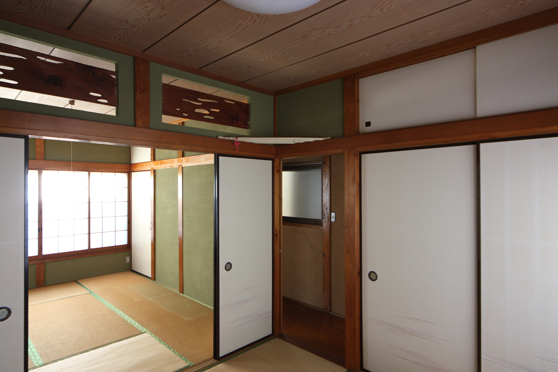 リフォーム前の和室2室