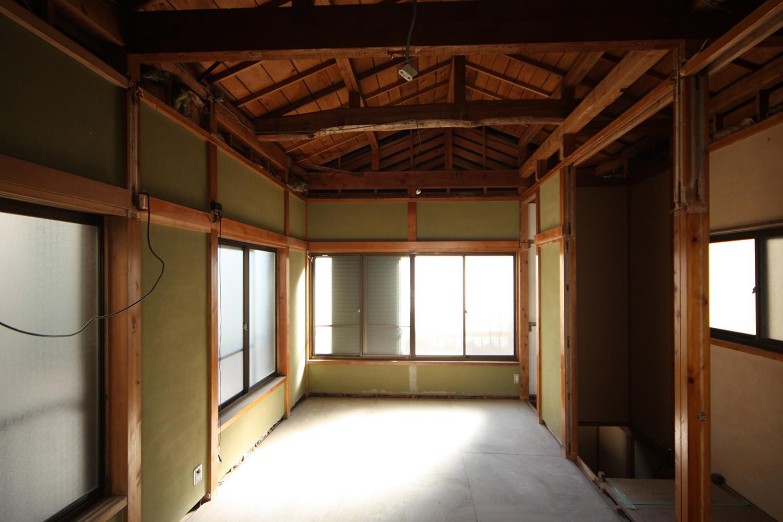 リフォーム中2階和室