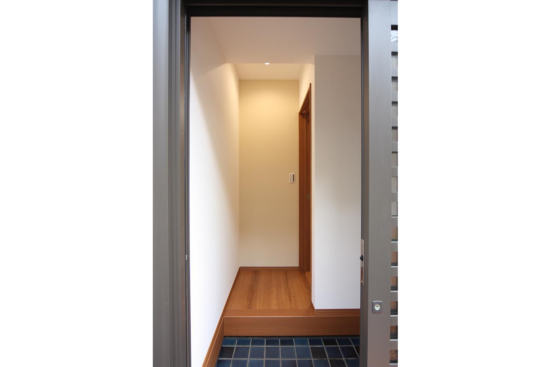 リフォーム後の玄関