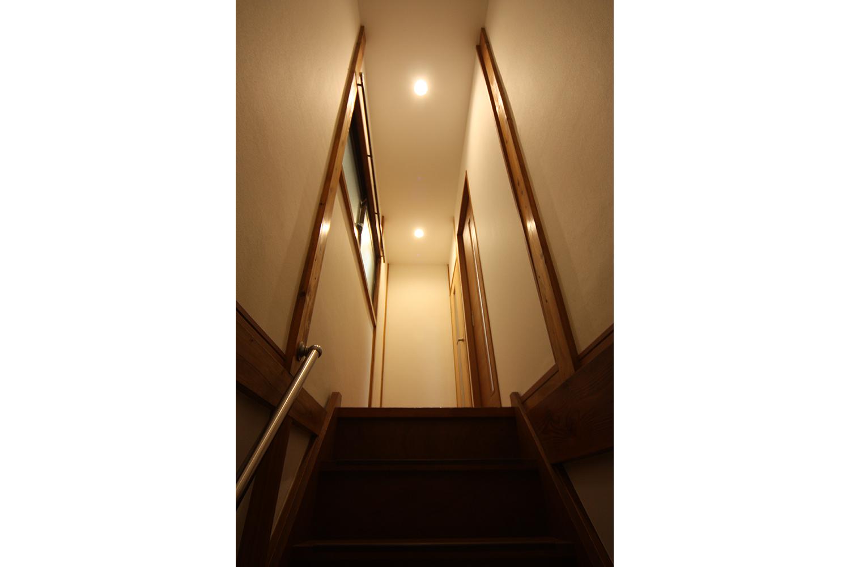 リフォーム後の階段