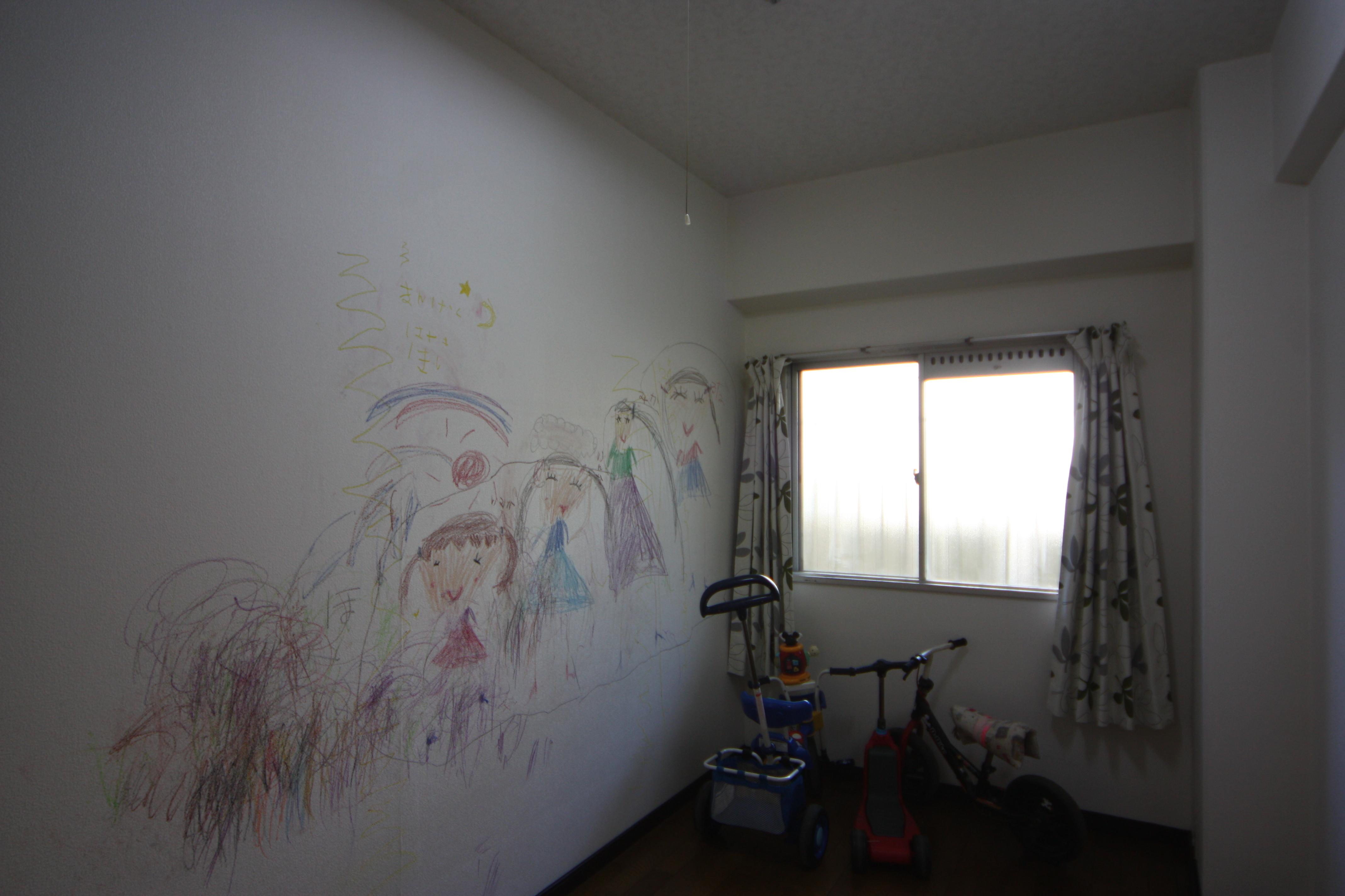 工事前にお孫さんが描いたイラストその2
