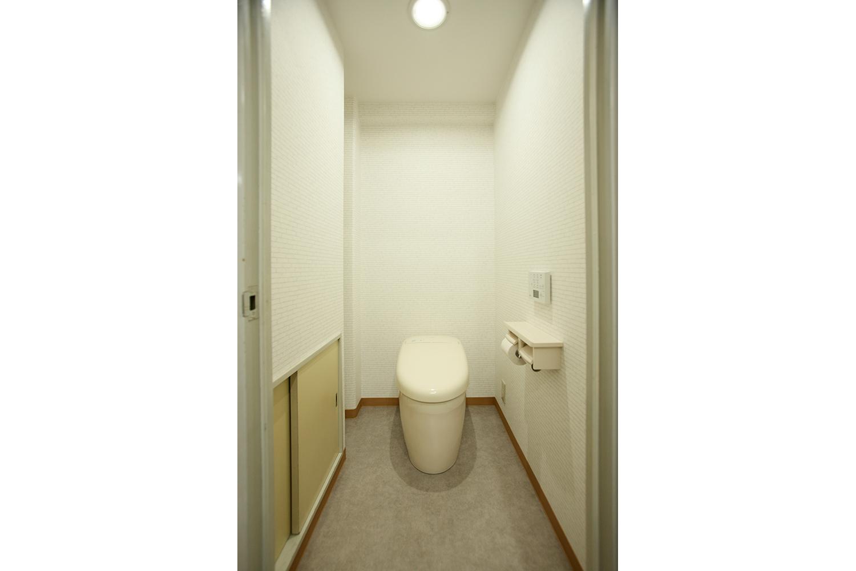 リフオーム後のトイレ
