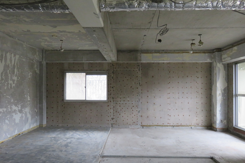 東側和室・洋室スケルトン