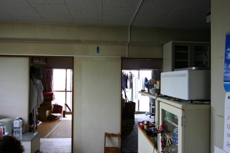 和室2室の施工前写真