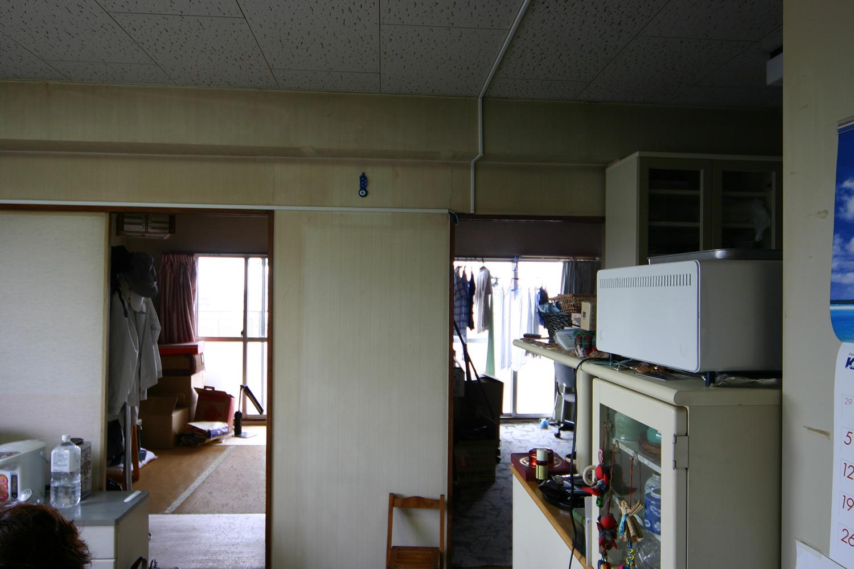 和室2室を正面にみた施工前写真