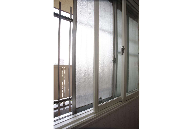 施工後北側部屋内窓取り付け