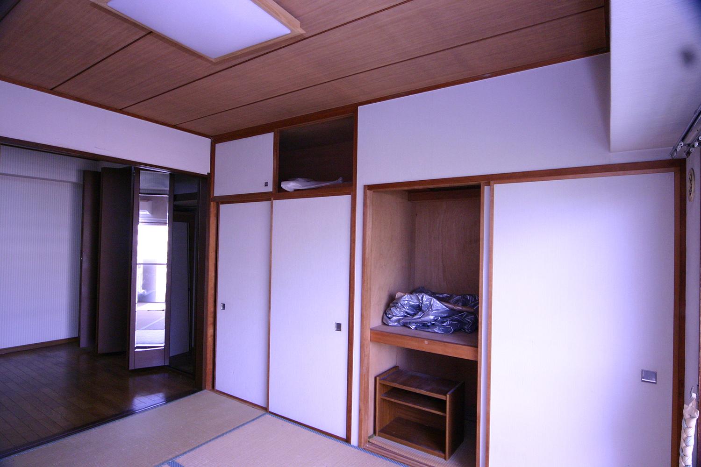 リフォーム前の和室収納