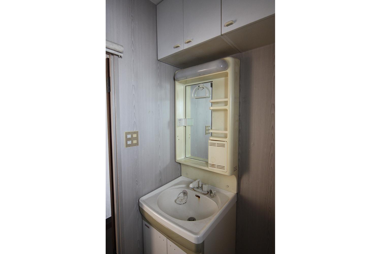 リフォーム前の洗面室