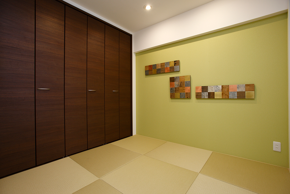 リフォーム後和室の内装