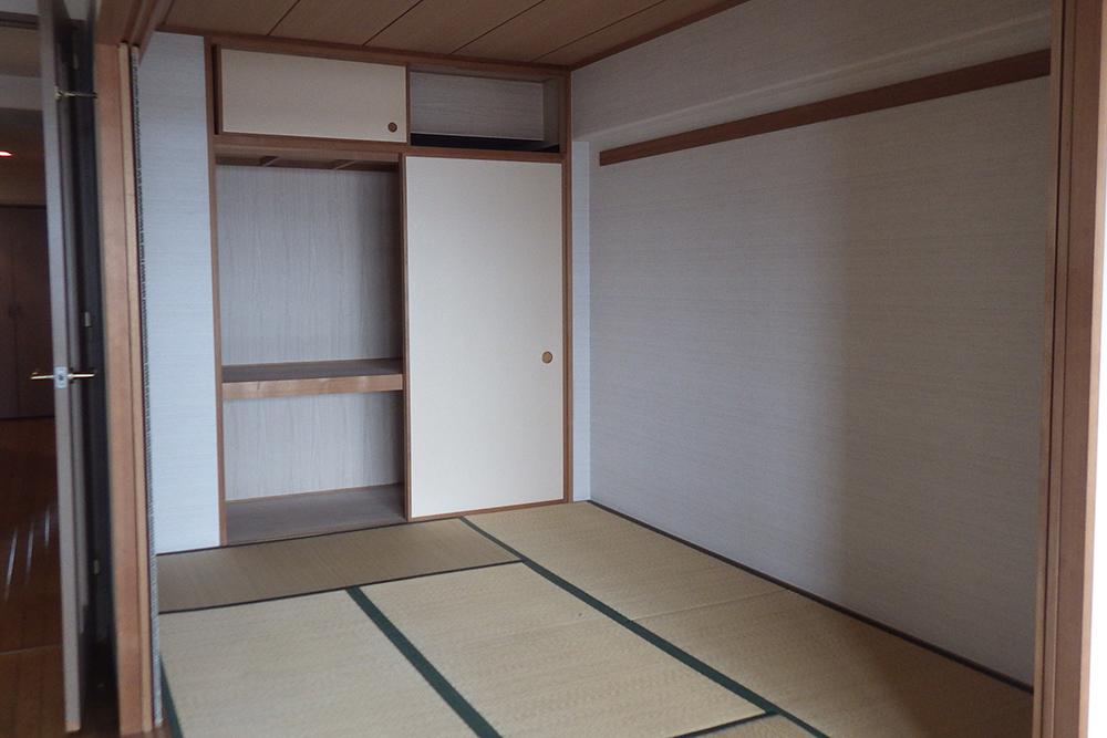 リフォーム前の和室と押入