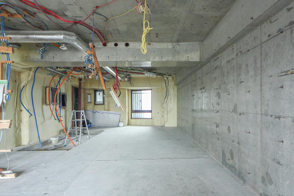 スケルトン後の和室
