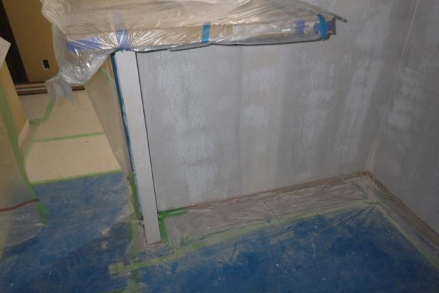 塗装準備の下地