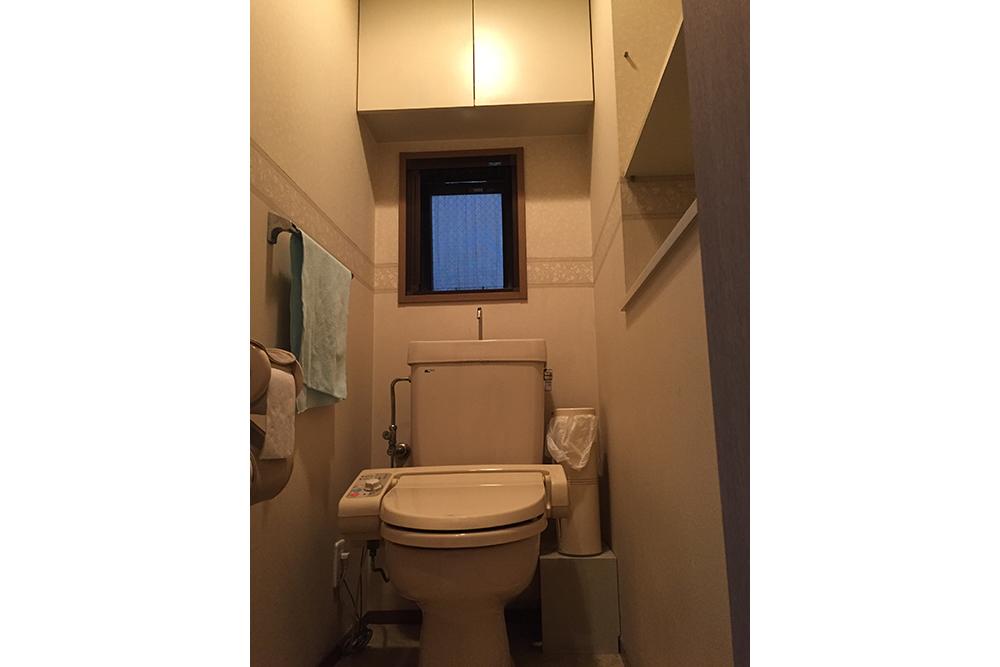 リフォーム前のトイレ全景