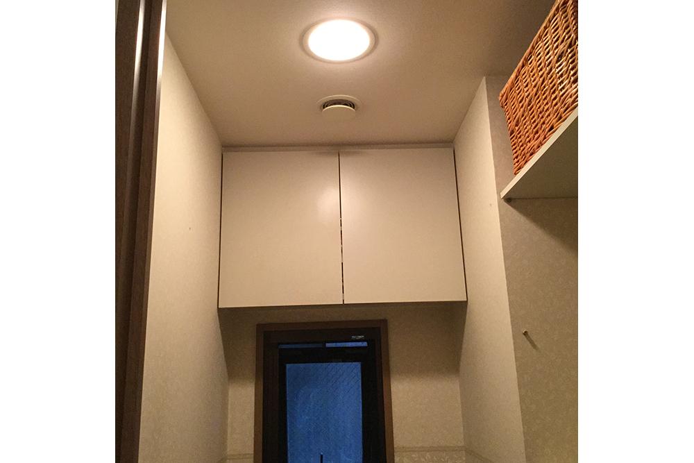 リフォーム前のトイレの棚