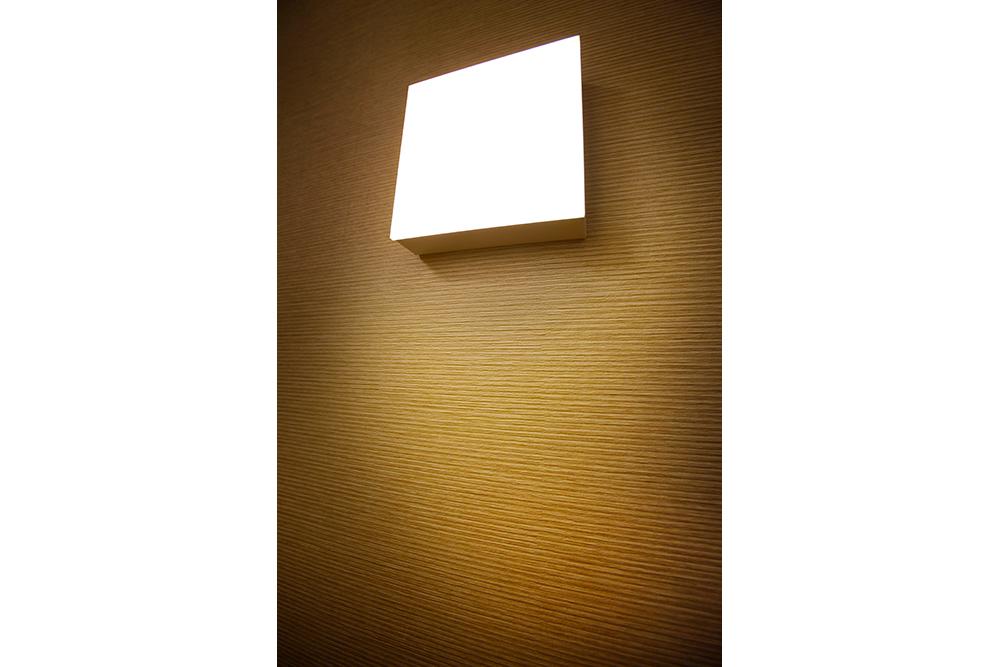 リフォーム後の玄関照明