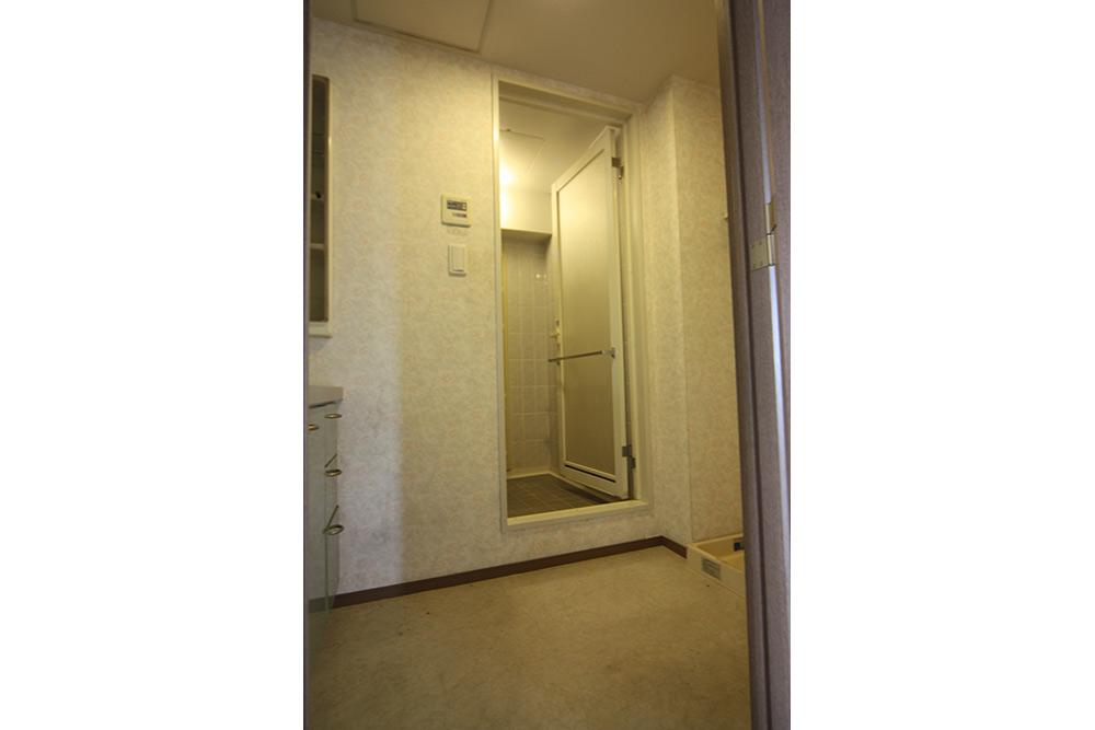 リフォーム前の浴室段差