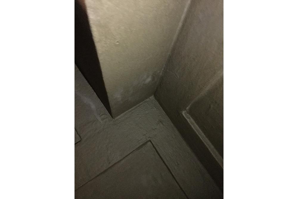 浴室防水塗装拡大